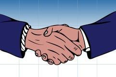 Hand shaking Royalty Free Stock Photo