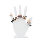 Hand-shaped jewelry holder Stock Image