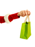 Hand with a shopping bag Royalty Free Stock Images