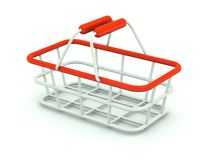 Hand shopping cart Stock Photo