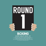 Hand Show Boxing Ring Board Stock Photography