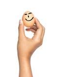 Happy egg Stock Photo