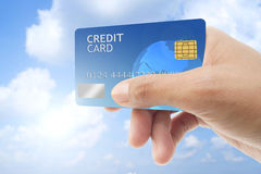 Credit card. Royalty Free Stock Images