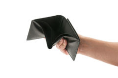 Hand showing an empty wallet Stock Image