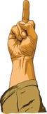 Hand showing no decent gesture Stock Photos
