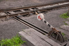 Hand side of the fork railway station Qianwei Kayo Yuejin Road handles Leshan City move. Kayo train is running on a track north of Sichuan Qianwei just classic Royalty Free Stock Images