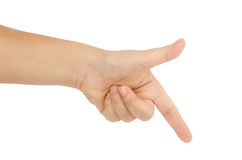 Hand sign Stock Images