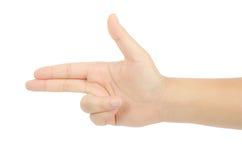 Hand sign Stock Photos