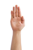 Hand sign Language Royalty Free Stock Photography