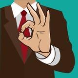 Hand sign okay Stock Photos