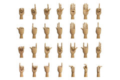 Hand signals Royalty Free Stock Image