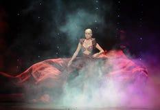 Hand silhouette-India memories-the Austria's world Dance Royalty Free Stock Photo