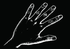 Hand Sketch By Pen Royalty Free Stock Photography