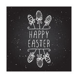 Hand-sketched easter typographic element Royalty Free Stock Photo