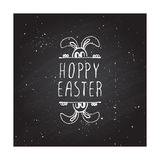 Hand-sketched easter typographic element Royalty Free Stock Photography