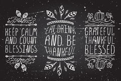 Hand-sketched typographic elements for Stock Image