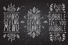 Hand-sketched typographic elements for Stock Photos