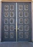 Hand sniden dörr Royaltyfri Bild