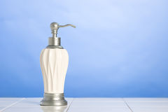 Hand Soap Dispenser Stock Photo