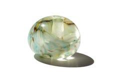 Hand - som göras som den glass pärlan för marmor Royaltyfri Fotografi