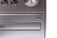 Hand on Sound volume control knob Royalty Free Stock Photos