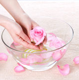 Hand Spa Royalty Free Stock Photo