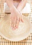 Hand spa beauty treatment Royalty Free Stock Image
