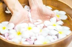 hand spa treatment. Royalty Free Stock Photo