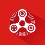 Hand Spinner Emblem Stock Images
