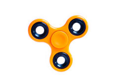 Hand spinner. A fidget toy for increased focus, stress relief. Hand spinner. A fidget toy for increased focus, stress relief on white background royalty free stock photo