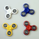 Hand spinner, fidgeting hand toy Stock Images