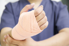 Hand Sprain Stock Photography
