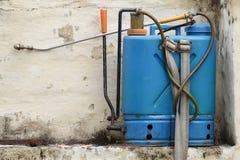Hand spray pump set Stock Images