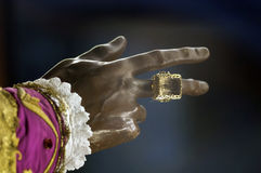 Hand of St. Nicholas Royalty Free Stock Photo