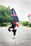 Hand Stand Royalty Free Stock Photos