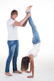 Hand stands Royalty Free Stock Photos