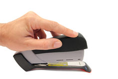 Hand stapler Stock Photos