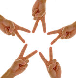 Hand Star Stock Photography