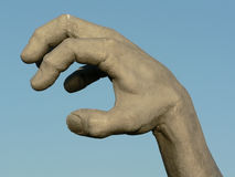 Hand statue 2. Photo of a isolated close up shot of a hand of a statue stock photo