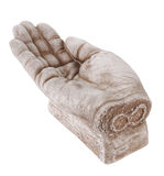 Hand statue Stock Image