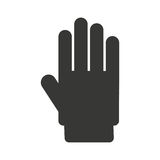 hand stop isolated icon design Royalty Free Stock Images
