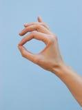 Hand: super royalty free stock photo