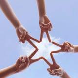 Hand symbol Royalty Free Stock Photography