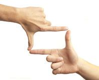 Hand symbol Royalty Free Stock Images