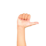 Hand symbol Stock Photos
