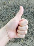 ้hand symbol Stock Photo
