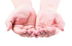 Hand symbol Stock Image