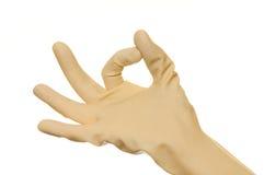 hand symbolet Arkivfoton