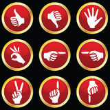 Hand Symbols Stock Photo