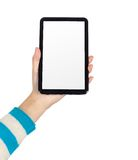 Hand Tablet PC Royalty Free Stock Photos